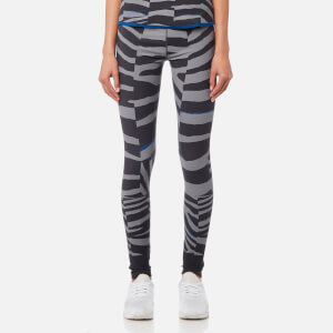 adidas by Stella McCartney Women's Train Miracle Tights - Night Steel/Sold Grey/ EQT Blue