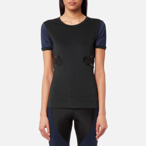 adidas by Stella McCartney Women's Run Short Sleeve T-Shirt - Black