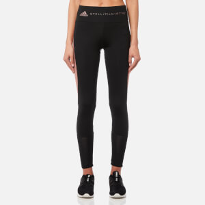 adidas by Stella McCartney Women's Train Excl Tights - Black/Burnt Rose