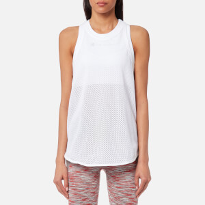 adidas by Stella McCartney Women's Yoga Mesh Tank Top - White