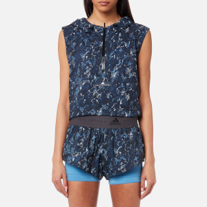 adidas by Stella McCartney Women's Run 2-in-1 Shorts - Storm Blue/Multicolour
