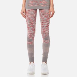 adidas by Stella McCartney Women's Yoga Tights - Solid Grey/White/Dark Callist
