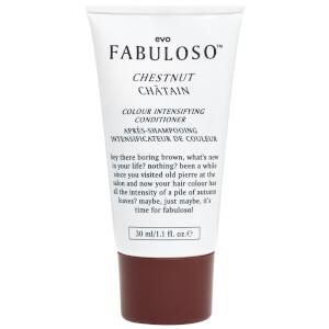 Evo Fabuloso Chestnut Colour Intensifying Conditioner 30ml (Free Gift)