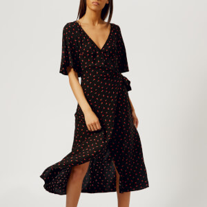 Bec & Bridge Women's Mon Bebe Wrap Dress - Print