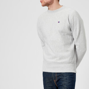 Champion Men's Crew Neck Sweatshirt - Grey