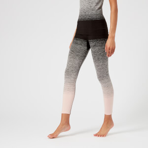 Pepper & Mayne Women's Ombre Compression 3/4 Leggings - Backstage Blush