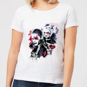 "Camiseta DC Comics Escuadrón Suicida ""Harley's Puddin"" - Mujer - Blanco"
