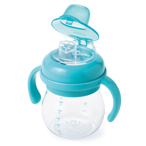 OXO Tot Transitions - Soft Spout Sippy Cup with Handles 175ml - Aqua