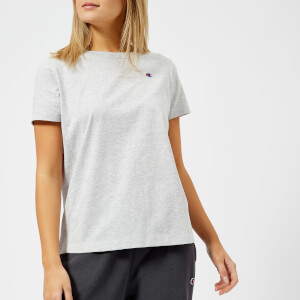 Champion Women's Logo Short Sleeve T-Shirt - Grey