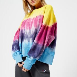 Champion Women's Tie Dye Crew Neck Sweatshirt - Multi