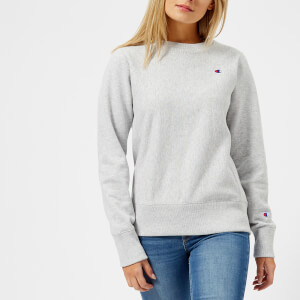 Champion Women's Crew Neck Sweatshirt - Grey
