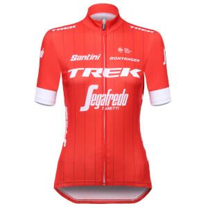 Santini Trek-Segafredo 18 Women's Classic Replica Jersey - Red