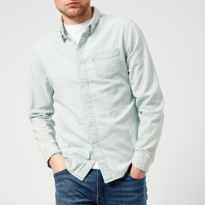 Levi's Men's Sunset 1 Pocket Shirt - Super Light Stone