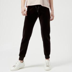 Juicy Couture Women's Velour Zuma Pants - Pitch Black