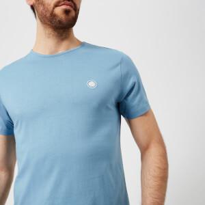 Pretty Green Men's Mitchell Short Sleeve Crew Neck T-Shirt - Mid Blue