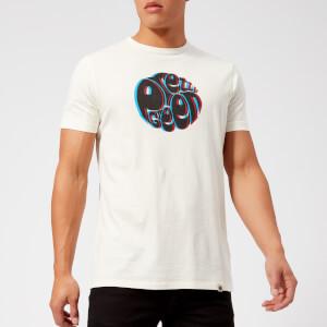 Pretty Green Men's 3D Logo T-Shirt - White