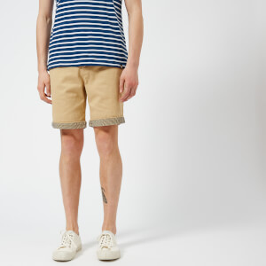 Pretty Green Men's Preston Shorts - Stone