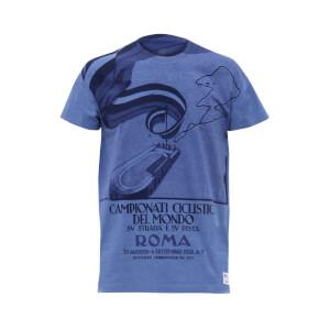 Santini UCI Rainbow Roma 1932 T-Shirt - Blue