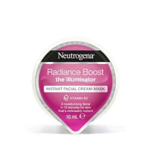 Neutrogena Radiance Boost Instant Facial Cream-Mask 10 ml