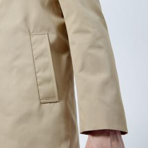 Aquascutum Men's Berkeley SB Raincoat - Camel: Image 5
