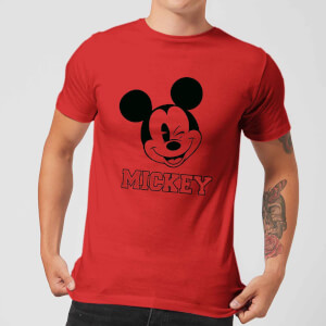 Disney Mickey Mouse Since 1928 T-Shirt - Rot