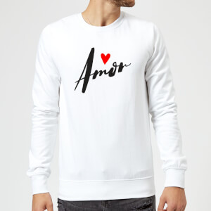 Sweat Homme Amor - Blanc