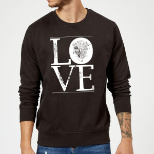 Anatomic Love Sweatshirt - Black