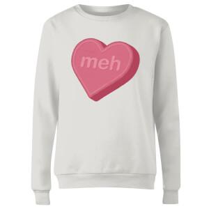 Meh Women's Sweatshirt - White