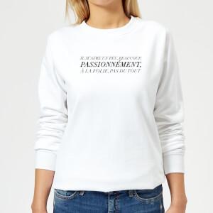 Passionnément Frauen Pullover - Weiß