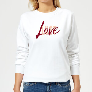 Love & Lust Women's Sweatshirt - White