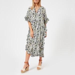 See By Chloe Women's Multi Print Maxi Dress - Multicolor Grey