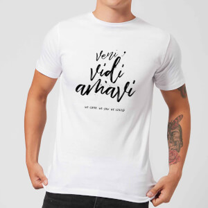 We Came. We Saw. We Loved. T-Shirt - White