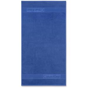 Calvin Klein Modern Towel - Cobalt