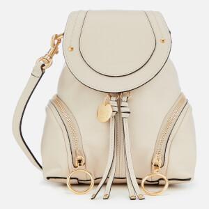 See By Chloe Women's Mini Olga Backpack - Cement Beige