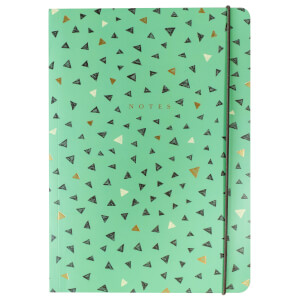 Portico Designs B5 Triangles Journal
