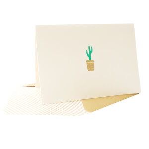 Portico Designs Notecards - Cactus (Set of 10)