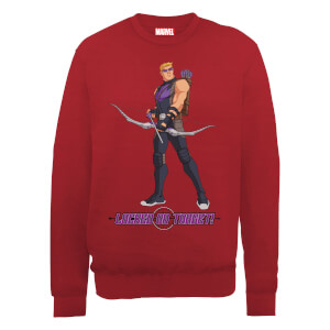 Felpa Marvel Avengers Assemble Hawkeye Locked On - Rosso