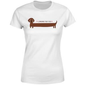 I Long For You Women's T-Shirt - White