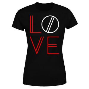 Love Geo Women's T-Shirt - Black