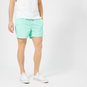 Tommy Hilfiger Men's Short Drawstring Swim Shorts - Aruba Blue