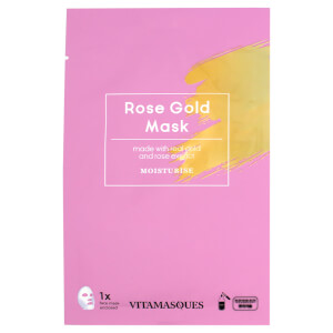 Vitamasques Rose Gold Dust Sheet Mask -kasvonaamio 20ml