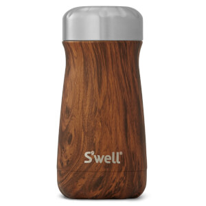 S'well The Teakwood Traveller Bottle 350ml