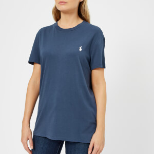 Polo Ralph Lauren Women's Oversized Logo T-Shirt - Rustic Navy