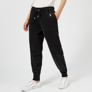 Polo Ralph Lauren Women's Logo Sweatpants - Black