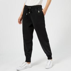 Polo Ralph Lauren Women's Logo Sweatpants - Black