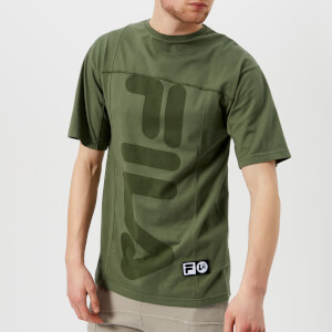 Fila Men's Liam Hodges X Fila Fitness Short Sleeve T-Shirt - 4 Leaf Clover