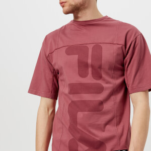 FILA Men's Liam Hodges X FILA Fitness Short Sleeve T-Shirt - Decco Rose