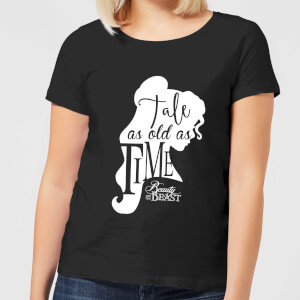 Disney Beauty And The Beast Princess Belle Tale As Old As Time Women's T-Shirt - Black