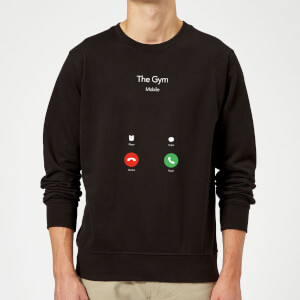 Gym Calling Sweatshirt - Black