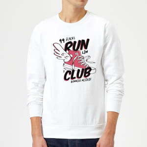 RUN CLUB 99 Sweatshirt - White